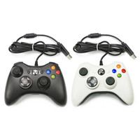 Para Microsoft Xbox 360 USB Wired Game Controller Gamepad Golden Joystick Camouflage Game Pad Duplo Choque Controlador