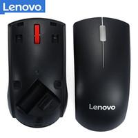 MICE LENOVO Оригинальная мышь M120PRO Оптические беспроводные игровые аксессуары с использованием для настольного ноутбука PC 1000DPI красный резиновый ролик