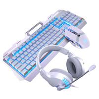 لوحة المفاتيح الفأر مجموعات الصمام الإضاءة الخلفية المحمولة usb مكتب السلكية العمل الميكانيكية العالمي سطح المكتب الألعاب مجموعة مضيئة الكمبيوتر لعبة الكمبيوتر