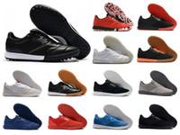 Classics para hombre Tiempo Leyenda Premier II SALA TF IC Turf Socúcano de interior Zapatos de fútbol Botas de botas de fútbol retro Botas baratas 6.5-11