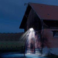 80W Waterdichte IP66 Outdoor Lights Solar Energy Street Light Yard Path Thuis Tuin Power Lamp 91LED Wall Light 5400LM Wandlampen