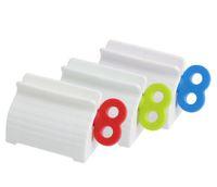 バスルームアクセサリー歯磨き粉スクイーザー歯ペーストディスペンサーチューブスクイーザー洗剤プレスローリングホルダー