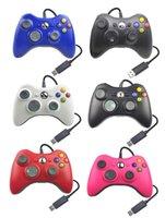 Mando de juegos para Xbox 360 controlador inalámbrico para Xbox 360 inalámbrico control de joystick juego gamepad joypad de varios colores con el logotipo