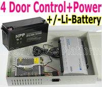 4 portes d'accès au réseau clé en main du contrôleur / panneau de connexion 4 lecteurs PSU Power Box All-in-One carte contrôleur Web IP