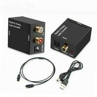 아날로그 오디오 변환기 스테레오 어댑터에 새로운 광섬유 동축 SPDIF 디지털