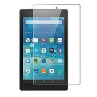 0,3 mm transparente rasguño anti tableta de la pantalla de vidrio templado Protector para Amazon Kindle fuego 7 8 10 pulgadas 2017