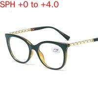 MINCL / أزياء العلامة التجارية تصميم المعادن جولة نظارات القراءة الرجال طويل النظر النظارات النساء سبائك واضح الشمس UV400 مع صندوق NX