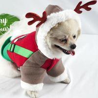 ملابس الحيوانات الأليفة الكلب معاطف معطف الخريف والشتاء الدافئة عيد الميلاد الكلب الملابس والصغيرة المتوسطة القطط الكلاب صامد للريح الحيوانات الأليفة