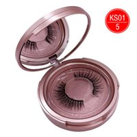 2020 New Style 3D Lashes Mink Eyelash Looking No Glue 5 Magnets Magnetic Eyelashes for women Beauty