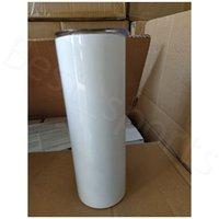 30 Unzen dünne Tumblers Blank Sublimation dünne Schale Kaffeetasse mit Deckel und Strohhalm Bier-Becher mit SEEverschiffen YYA474-2 100pcs