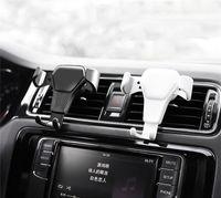 소매 패키지와 아이폰 (12) 프로 맥스 삼성 S9 (10) 자동차 휴대 전화 스탠드 홀더를 들어 핫 유니버설 자동차 전화 홀더 에어 벤트 마운트 스탠드
