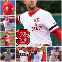 NC State Baseball Jersey College Trea Turner Luca Tresh Tyler McDonough Devonte Brown Jose Torres Patrick Bailey Nick Swiney David Harrison