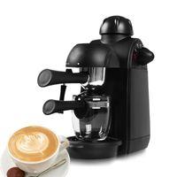 ITOP Espresso Cappuccino Coffee Maker para Home Cafe Shop, espuma de leite Máquina de Café, 5 bares máquina automática