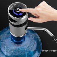 ذكي الكهربائية التلقائي المحمولة مضخة المياه الصيدلي زجاجة جالون الشرب تبديل الصامت الشحن اللمس Cl200920