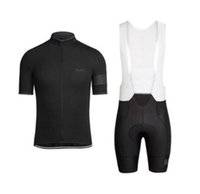 NUEVO RAPHA VERANO Hombre Manga corta Ciclismo Jersey Bike Ropa de ropa BIB Set de babero MTB Uniforme Pro Ropa de ciclismo Bicicleta Maillot Lzfboss4