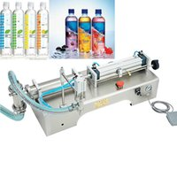 Commercial 220V110V liquid filling machine small horizontal single head liquid filling machine pneumatic small pedal filling machine