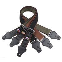 100٪ تصميم قطن خاص مع اختيار جيب لينة السلس مريحة أداء تنفس حزام الغيتار