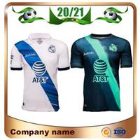 20/21 Liga MX 멕시코 푸에블라 F C 축구 유니폼 2020 홈 Camiseta de Fútbol 축구 셔츠 멀리 축구 유니폼