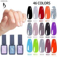 Gel des ongles KODIES Nails Polonais Glitterie Nu Gelcolor semi permanente Vernis UV Permanent Épaisant Durable Gellak Paint Nailart