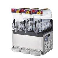 Sorvete Making Machine 3 Barrel Slush Cachorrinho xarope para venda Hire Granita Slushie Vending
