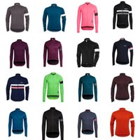 Rapha Equipo 2020 Hombres ciclismo Jersey Manga larga MTB CAMISETAS Camisas de carreras de carretera Ropa de carreras al aire libre Trajes de deportes ROPA CICLISMO S122217