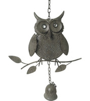 Christmas decorations cute solid color owl pendant Christmas...