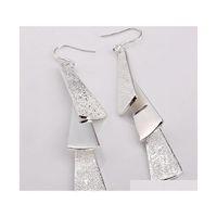 Commercio all'ingrosso - - vendita al dettaglio prezzo più basso regalo di Natale 925 argento appeso tre orecchini E015 Ya5in