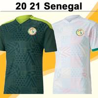 2020 Senegal Mens Soccer Jerseys National Team National Home Green White Koulibaly Balde Camisa de fútbol de Balde Uniformes de manga corta