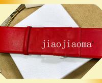 Дизайнерские ремни женщин роскошный ремень 7 см ширина пряжка мода дизайнер ремень для женщин натуральная кожаная золотая гладкая пряжка бесплатный shippin