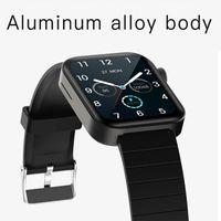 P40 1.65 بوصة لمسة كاملة الذكية ووتش الرجال النساء اللياقة تعقب بلوتوث استدعاء smartwatch ل xiaomi الهاتف مقابل W26 P8