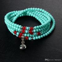 Braccialetto del braccialetto per le donne bordano i braccialetti di cristallo di fascino di vetro del fiore del rhinestone