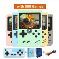 500 в 1 Gameboy Ретро Видеоигра Консоль портативной игры Портативный карманный игровой консоль 3.0 дюймов Мини портативный плеер для детей