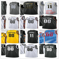 Benutzerdefinierte gedruckt 11 Kyrie 7 Kevin Irving Durant 13 Harden Joe 12 Harris 72 Biggie Drazen 3 Petrovic Mann Frauen Kinder Jugend Basketball Trikots