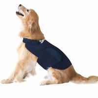 Трехожащая куртка для собаки rabbitgoo, успокаивающий жилет для собак, тревога, успокаивающая обертка против беспокойства стресса облегчает легкий успокаивающий PET-халат 201102