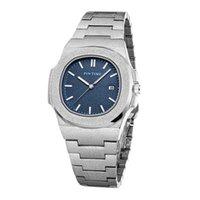 Reloj deportivo de lujo para hombre, cronógrafo masculino, de acero, dorado, con diamantes, 2020