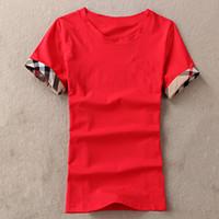 Camisetas Mujeres Vierna Camisetas Mujer Tshirts Algodón O Cuello Tops Tops Femme