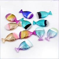 Preciosa Fundación Sirena Fundación Maquillaje Pincel Fish Formado Polvo Blusher Cosmético Maquillaje Cepillo Herramienta Kit de herramientas Fondo Fondo Contorno Cepillos 418 K2