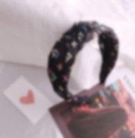 L-Lettre Marque Desinger conceptrice de bijoux élastique Bandeau pour les femmes de la mode célèbre marque Hair Bands femmes fille 7Styles Turban L headwraps