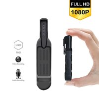 T189 Mini Kamera Full HD 1080P Gizli Kamera Giyilebilir Küçük Kalem Mini DVR Dijital DV ESPÍA Destek 32GB Kart