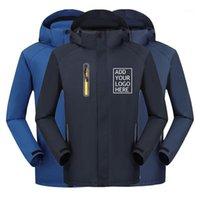 Custom Printing Logo Autumn Winter Softshell Jacket Outdoor Sports Wear Men Hiking Camping Skiing Trekking Male Female Jackets1
