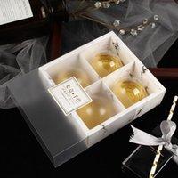 투명 서리가 낀 케이크 상자 Mooncake 케이크 팩 포장 상자 디저트 마카롱 상자 생과자 포장 상자 PPC2466