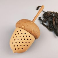 Pine Cones Silicone Tea Infusers Loose Leaf Cute Tea Strainer Deal Apple Mesh Herb Leak Filter Teaware Kitchen Tool