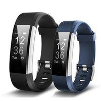 Onleny ID115 HR plus Smart Armband Fitness und Sleep Tracker Schrittzähler Herzfrequenzmonitor Smart Band Armband