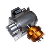 الدائري المجوهرات المحور الروتاري للألياف ليزر ليزر علامات آلة الحفر المعدنية مع لوحة محرك 20W 30W 50W