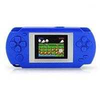 لعبة اللاعبين المحمولة لوحات المفاتيح الطفل اللاعب يده الشاشة 2 بوصة شاشة عرض تلفزيون مع 268 ألعاب اللعب 1
