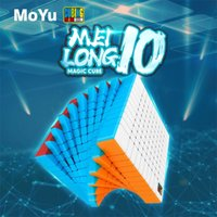 MOYU 매직 퍼즐 Mofangjiaoshi 10x10x10 Meilong 10x10 속도 큐브 84mm 전문 네오 큐포 Magico 하이 레벨 장난감 Y200428