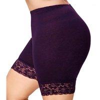 Ysdnchi verano pantalones cortos de cintura alta casual bajo shorts sexy hueco satinado de lace mujer feminino negro blanco 4xl más tamaño 5xl1