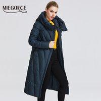 MIEGOFCE Новая коллекция Женщины пальто с упорным ветрозащитный Воротник Женщины Parka очень стильная женская зимняя куртка 201016