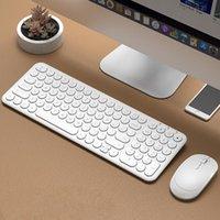 Mouse do teclado combos 2.4g jogos recarregáveis sem fio e para computador laptop de computador gamer
