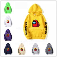 New Game Among Us Hoodie Moletons Homens Mulheres Moda Casual Pullover Harajuku Streetwear extragrandes Hoodies 15 cores frete grátis